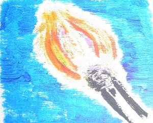 A match flame