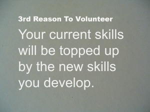 Using Skills Well Benefits You & Your Community