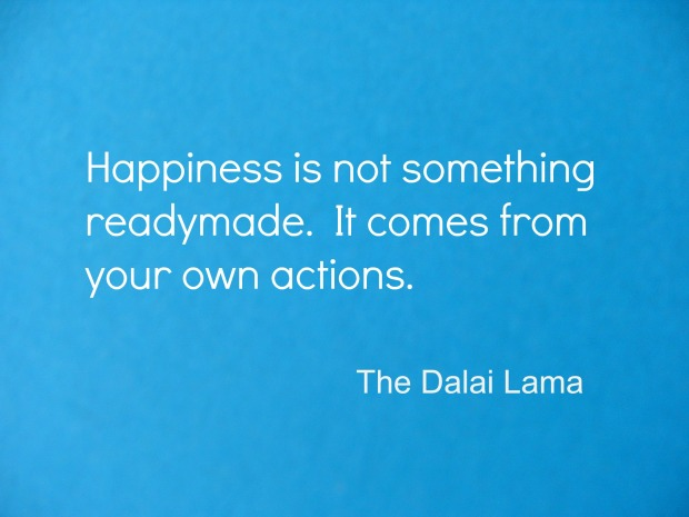 Dalai Lama quote on Happiness