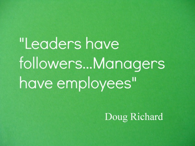 What Connections Do Leaders And Managers Inspire?