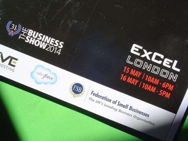 The Business Show 2014 Guide - watch out for the #TBS2014 trending on Twitter