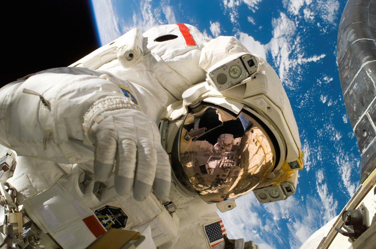 Astronaut Spacewalk Extra Vehicular Activity